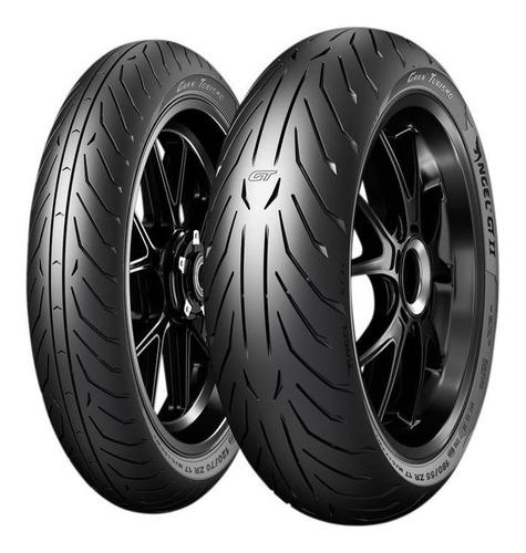 Par Pneu Cb500f Xj6 120/70r17 + 170/60r17 Angel Gt 2 Pirelli