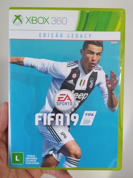Jogo Fifa 19 2019 Português Original Mídia Física Xbox 360