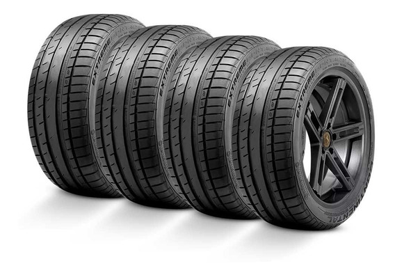 Kit 4 Pneus 205/55r16 Continental Extremecontact Dw 91w
