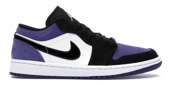 Sneakers Original Jordan 1 Low Court Purple Morados Original