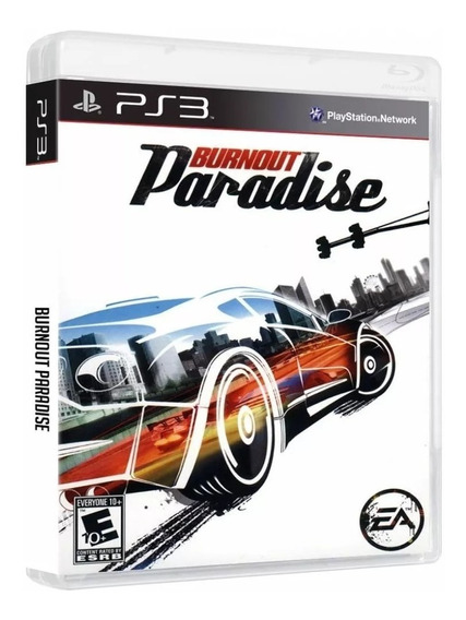 Burnout Paradise - Ps3 - Mídia Física