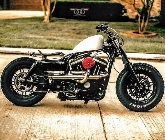 Escapamento Inox Para Harley Sportster