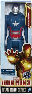 Iron Man 3 Iron Patriot Titan Hero Hasbro Original Replay