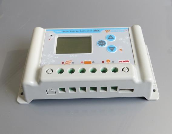 Controlador De Energia Solar 30 A 36/48/60 V