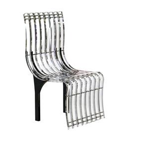 Cadeira Em Acrílico 20,00mm Moldado - Helena 15.07