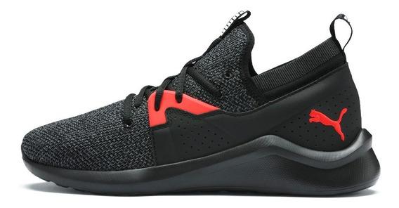 Zapatillas Running Puma Emergence Negro Hombre Envío Gratis