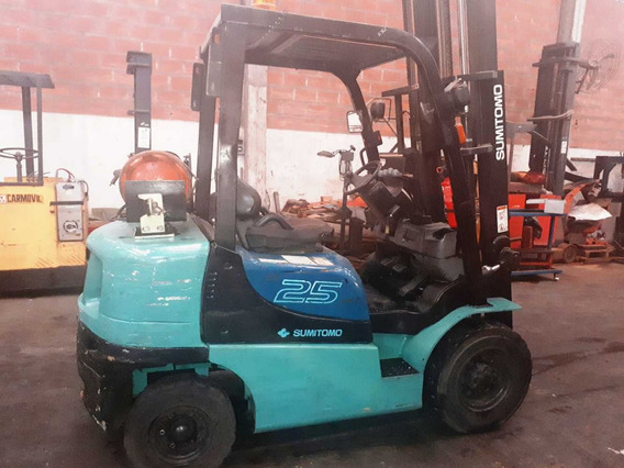 Autoelevador Sumitomo 2500 Kg/elevación 3 Mts C/posicionador