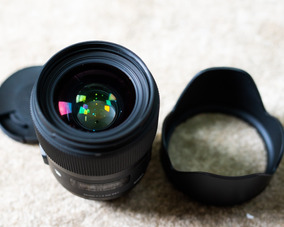 Lente Sigma 35mm F/1.4 Dg Hsm Art Af Nikon (seminova)