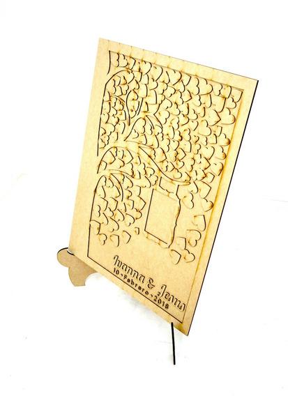 Arbol De Los Deseos, Firmas Para Boda 150 Corazones, Art1007