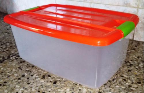 Caja Plastica Multiuso Organizador 28l Contenedor