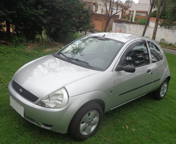 Ford Ka 2007 Gl 1.0 Zetec Rocam Vidro Trava Raridade