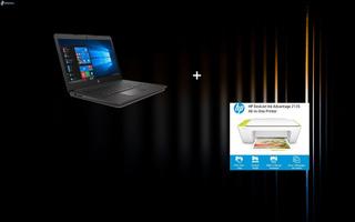 Combo Laptop Hp 240 G7 + Impresora Hp Deskjet 2135 Nueva!