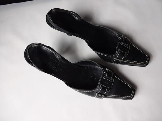 Sapatos Salvatore Ferragamo Mod T-strap Preto Tam.28 Cm 2155