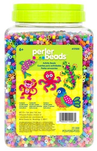 Perler Beads Bulto Surtido Multicolor Cuentas De Fusibles Pa