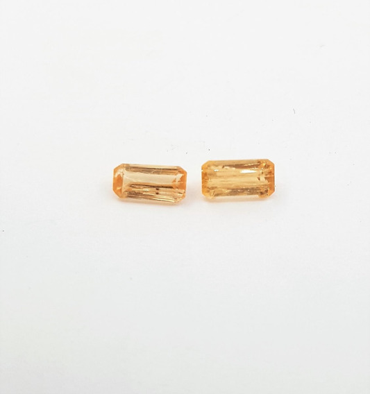 Topazio Imperial Amarelo 1,4 Ct 100% Natural. F-1752