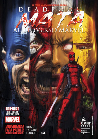 Cómic, Marvel, Deadpool Mata Al Universo Marvel