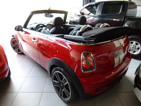 Mini Cooper 1.6 S Cabrio Aut 2011 Vermelho