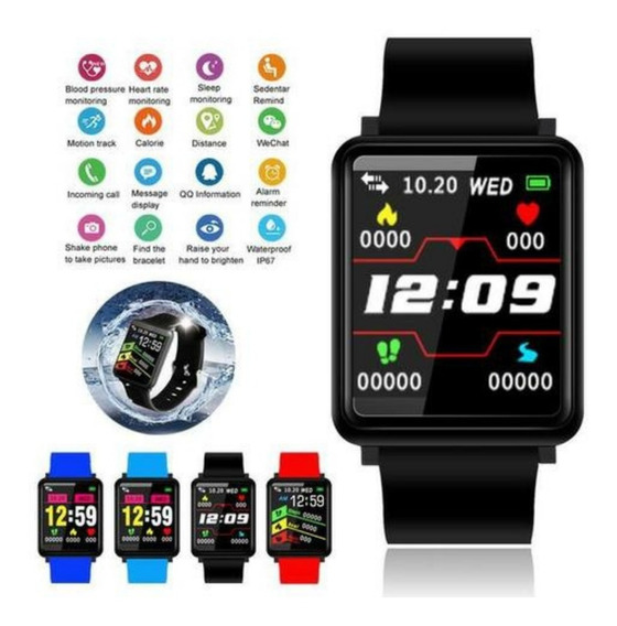 Smart Bracelet Sport F1 Bluetooth Pulseira Medidor Cardíaco