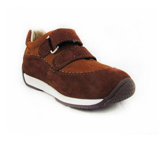 Zapatos Para Niños Pocholin Casuales Marrón
