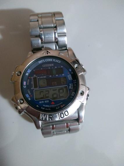 Relógio Citizen Promaster Digital Com Defeito