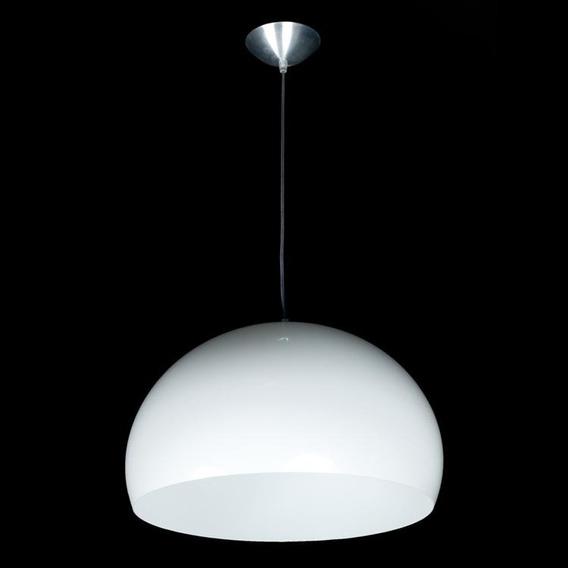 Pendente D&d Iluminação Bubble 32cm X 43,5cm X 43,5cm Branco