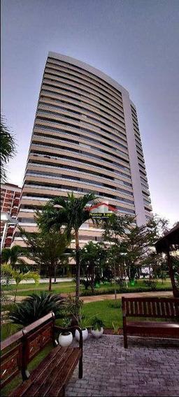 Apartamento Com 4 Dormitórios Para Alugar, 240 M² Por R$ 6.300,00/mês - Guararapes - Fortaleza/ce - Ap0677