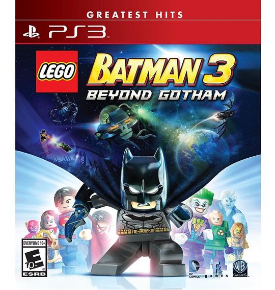 Lego Batman 3 Beyond Gotham Ps3 Mídia Física Lacrado Pt Br