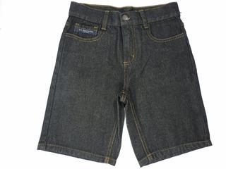 Bermuda Jeans Infantil U. S. Polo Assn. Tamanho 5 Anos