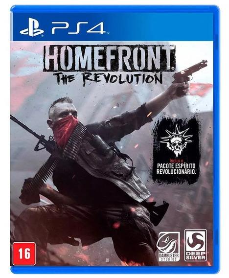 Homefront The Revolution Midia Fisica Ps4 Orig Novo Lacrad
