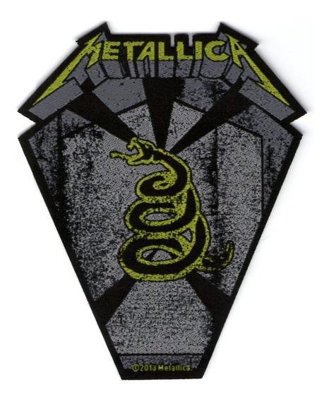 Patch Microbordado - Metallica - Snake Pit Boss - Oficial