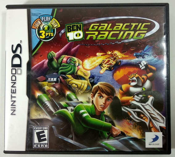 Ben 10 Galatic Racing Original - Ds