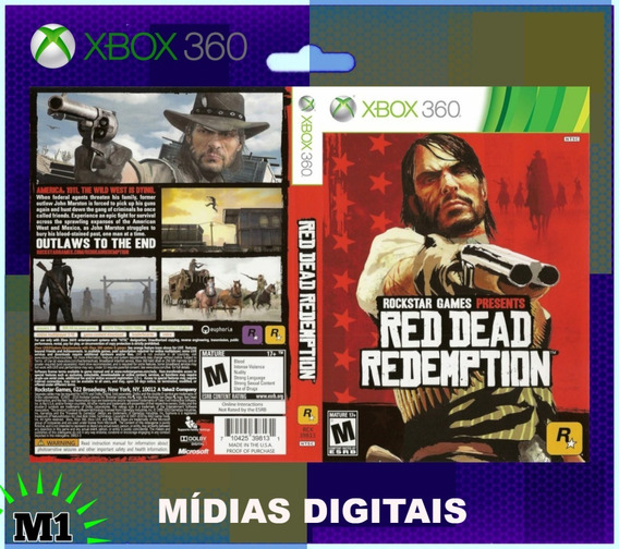 Red Dead Redemption Completo Xbox 360 Download Na Live Xbox