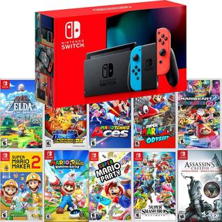 Nintendo Switch 2.0 Neón Versión 2019 + Juego A Elegir 1.1