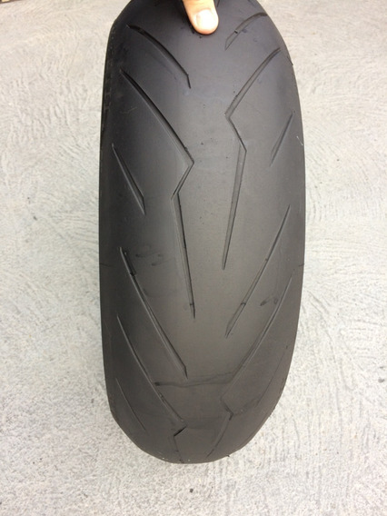 Pneu 180/55/17 Pirelli Diablo Rosso3 Usado Hornet Xj6 Bandit