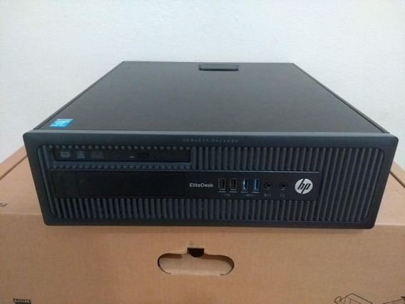 Computador Hp Elitedesk 800 G1 Sff I7 4770 16gb 1tb Win10