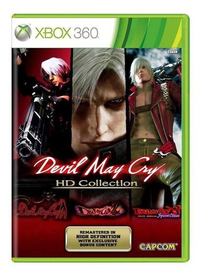 Devil May Cry Hd Collection Xbox 360 Mídia Física