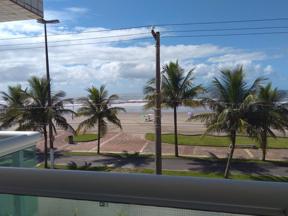 Apartamento 2 Dor, Em Solemar Na Pg De Frente Para Praia