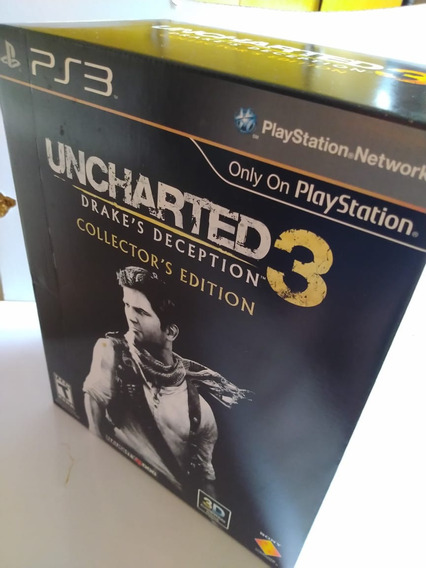 Uncharted 3 Drakes Deception Collector Edition Completa
