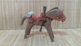 Lote 5119 - Cavalo Marrom Médio - Montarias Do Velho Oeste