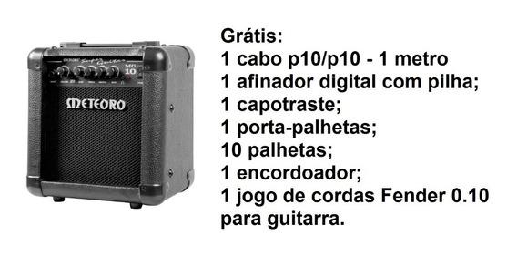 Cubo/amp/guitarra/10w/mg10/meteoro+brindes-frete Grátis!!!!!