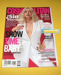 Christina Aguilera Revista Cosmopolitan 2018 Like La Leyenda