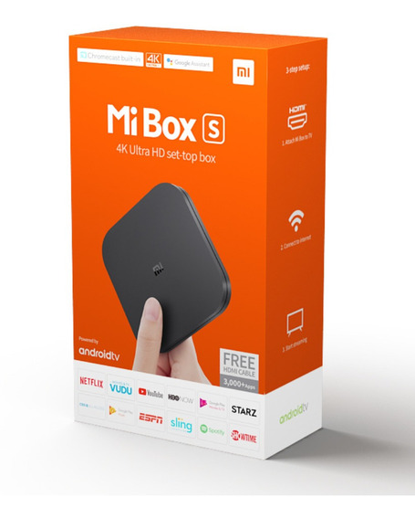 Xiomi Mi Box S 4k