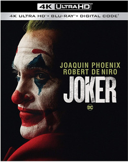 Joker 4k Blu-ray - Digital