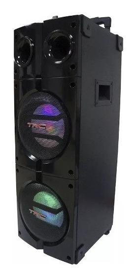 Caixa De Som Amplificada 1000w Bluetooth Trc1000 Mic Sem Fio
