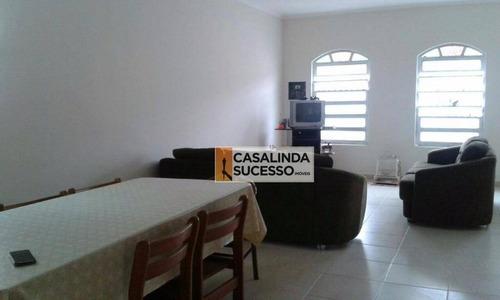 Casa 136m² 2 Dormts 5 Vagas À 2 Quadras Da Praia - Ca5979 - Ca5979