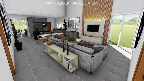 Casa Nova Em Condomínio, Buona Vita Atibaia Portaria, Rondas E Área De Lazer... - Ca01267 - 69372659