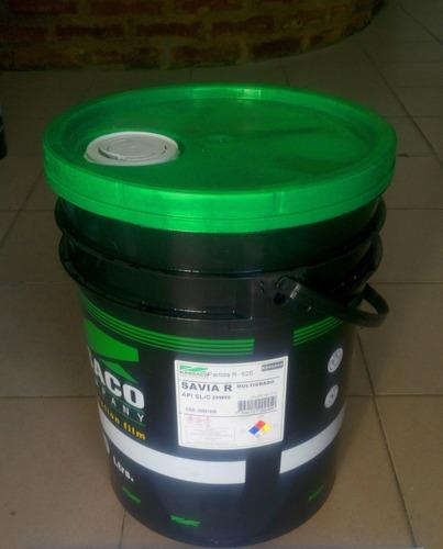 Aceite 20w50 Semisintetico Savia R Kansaco Balde 20lt. Multi
