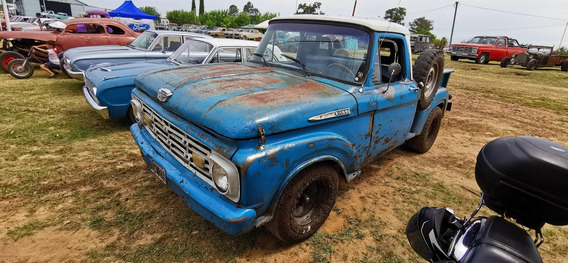 Ford F100 V8 Fase 2 Twin I Beam 1960 1964