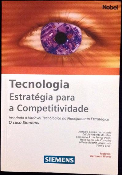 Livro Tecnologia Estratégica Para Competitividade