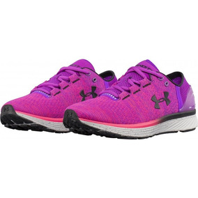 Tenis Para Correr Under Armour Charged Bandit 3 Mujer Rosa